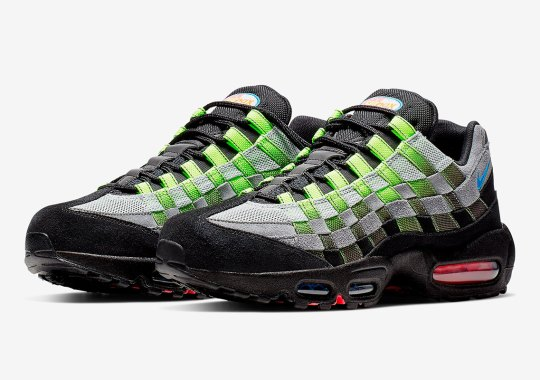 super popular 95ddb 23767 The Nike Air Max 95 Gets Transformed With Intertwined Woven Uppers