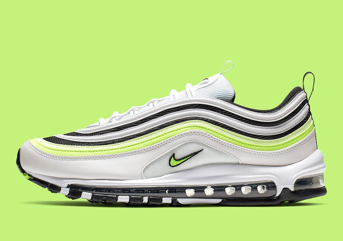 Nike Air Max 97 AQ4126 101 WhiteBlackVolt Release Info