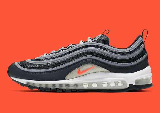 quality design 02976 f628b This Nike Air Max 97 Features Summer-Ready Crimson Accents