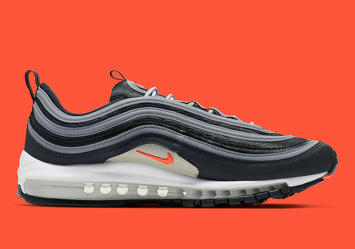 official photos 28f08 8c919 Nike Air Max 97  160. Color  Anthracite Wolf Grey-White-Flash Crimson Style  Code  CI6392-001. Advertisement