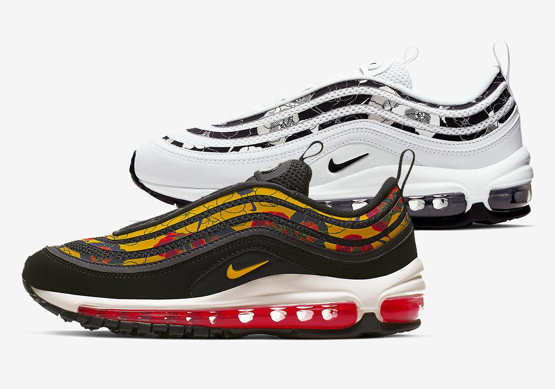 4198a72f79 Nike Air Max 97 Floral Trim BV0129 100 Release Date | SneakerNews.com