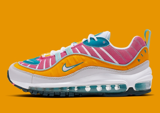 "sale retailer 3b6b7 e1a8d The Nike Air Max 98 ""Easter"" Is Available Now"