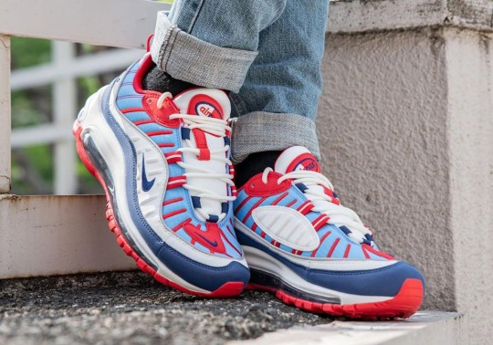 This Nike Air Max 98 Is Perfect For The Upcoming Summer Holidays