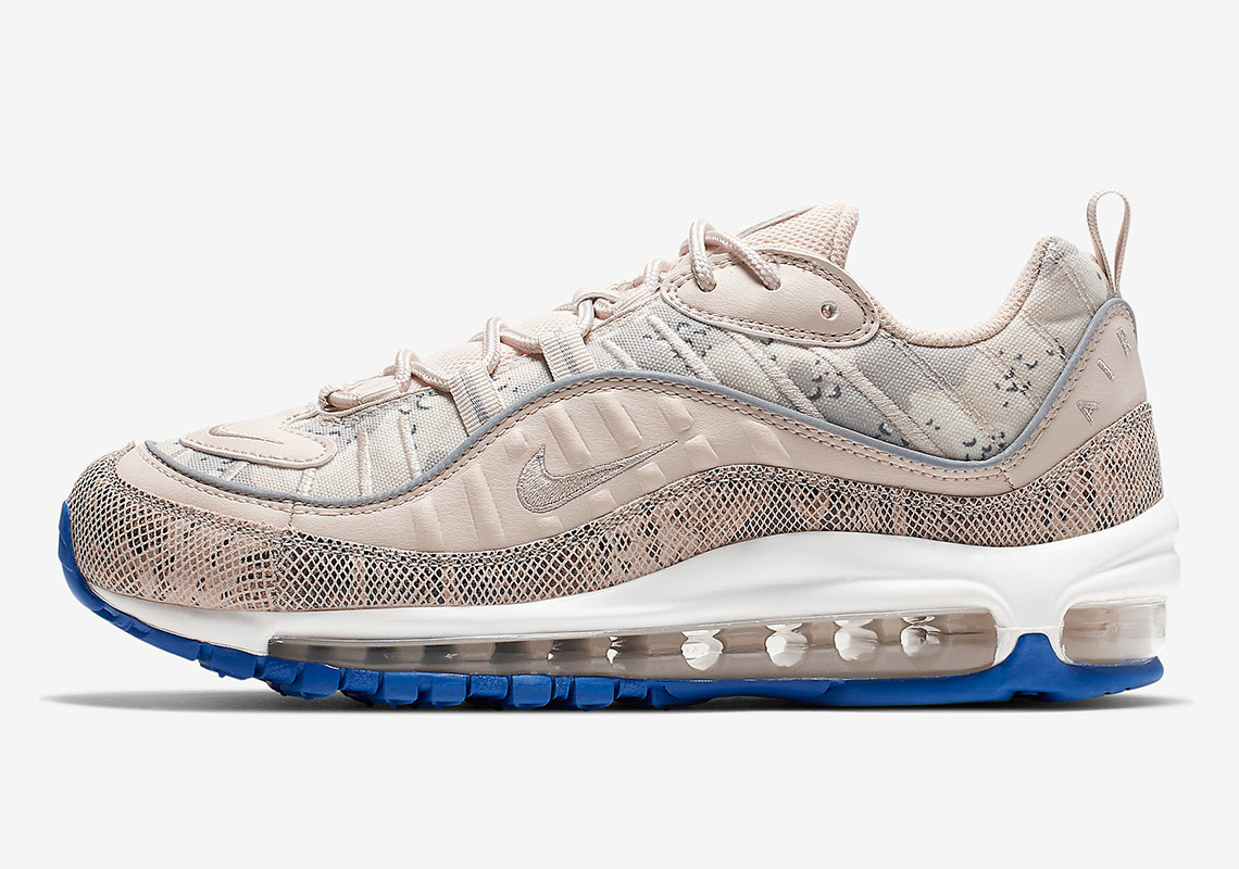 newest c78c6 c4a8d Nike Air Max 98 Womens Snakeskin CI2672-100 Release Info ...