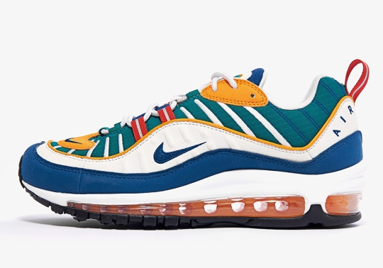 A Multi-Colored Nike Air Max 98 Is Releasing On June 19th