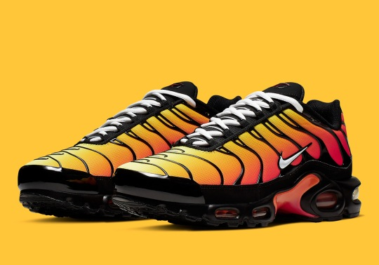 Nike Brings Back A Familiar Colorway Onto The Air Max Plus