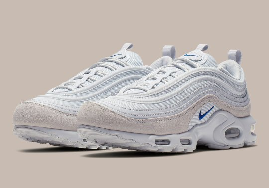 The Nike Air Max Plus 97 Arrives In Smooth Suede Neutrals