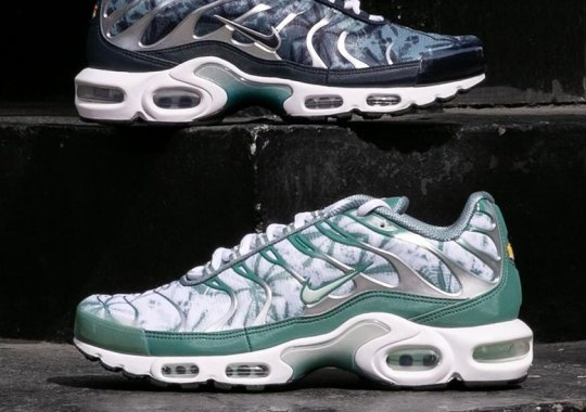 "check out 6feb8 ae619 The Nike Air Max Plus ""Palm Pack"" Is Available Now"