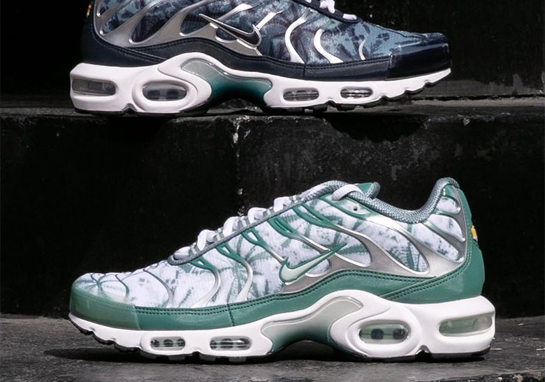 "check out 48f3b 54057 The Nike Air Max Plus ""Palm Pack"" Is Available Now"