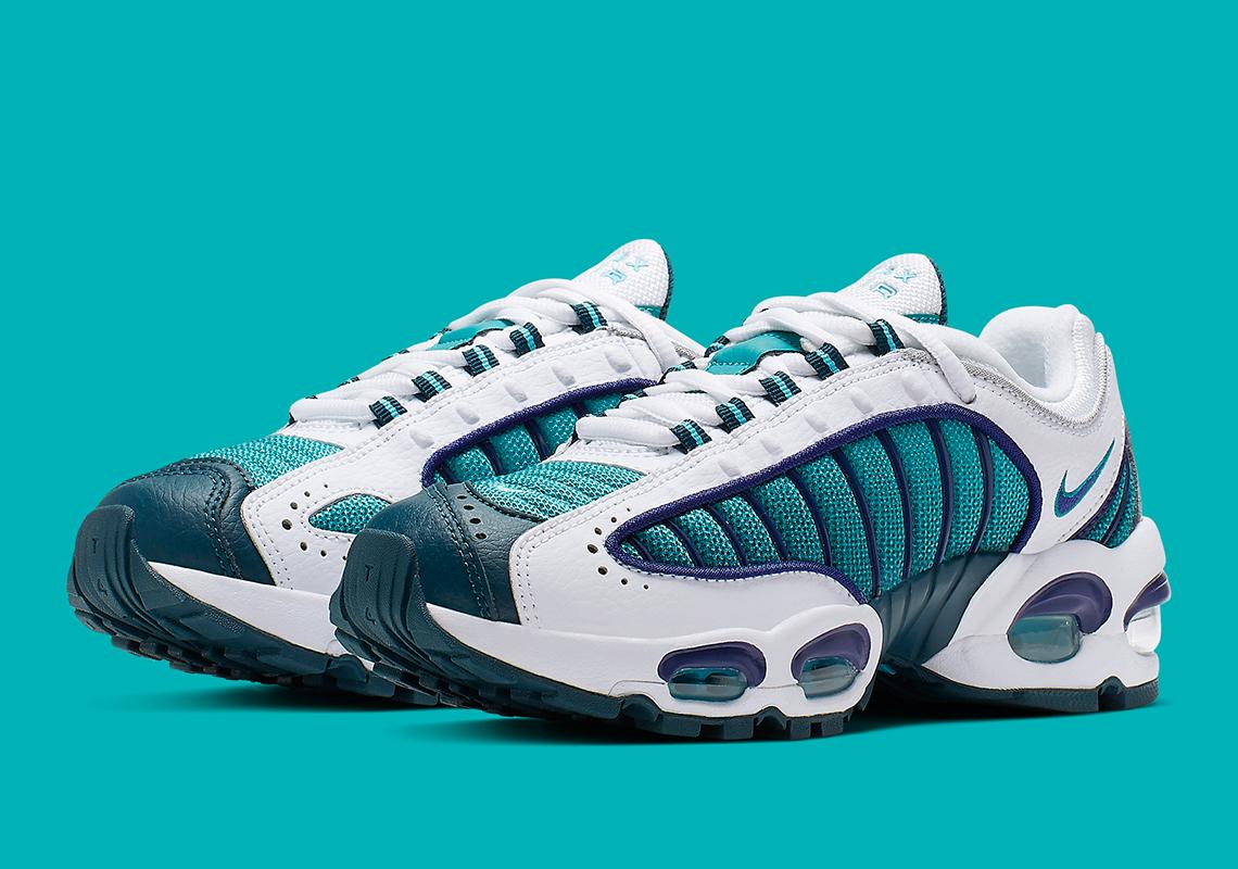 separation shoes b79e0 fbcc1 Nike Air Max Tailwind 4 GS White Purple Teal BQ9810-101 ...