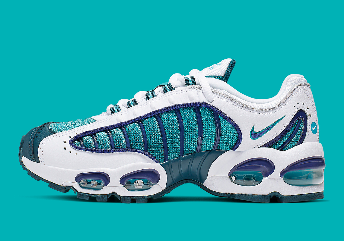 best loved 2375d 8fe6d The Nike Air Max Tailwind IV GS Adds Purple And Teal Accents