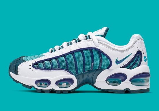 The Nike Air Max Tailwind IV GS Adds Purple And Teal Accents