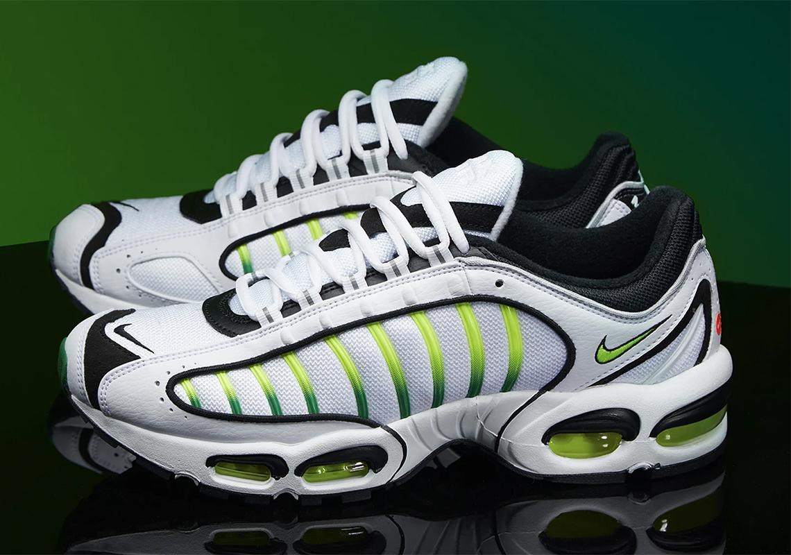 ba33f6184d Nike Air Max Tailwind IV Volt AQ2567-100 Store List | SneakerNews.com