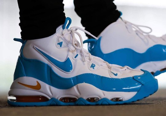 "The Nike Air Max Uptempo 95 Returns In ""Blue Fury"""