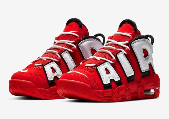 "The Nike Air More Uptempo Returns In A ""Hoop Pack"" Inspired Colorway"