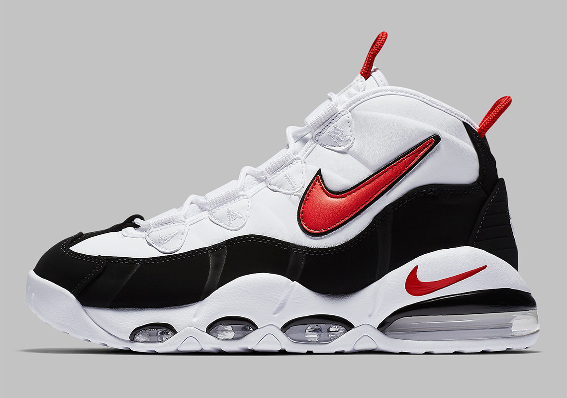 Nike Air Max Uptempo White Black Red CK0892,101 Release Date