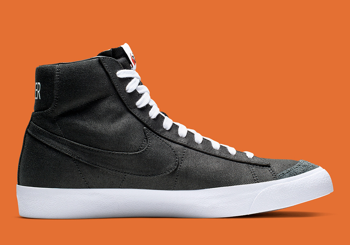"Where To Buy The Nike Blazer Mid Vintage '77 ""Black Canvas"