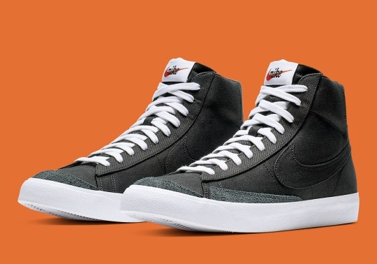 "Where To Buy The Nike Blazer Mid Vintage '77 ""Black Canvas"""