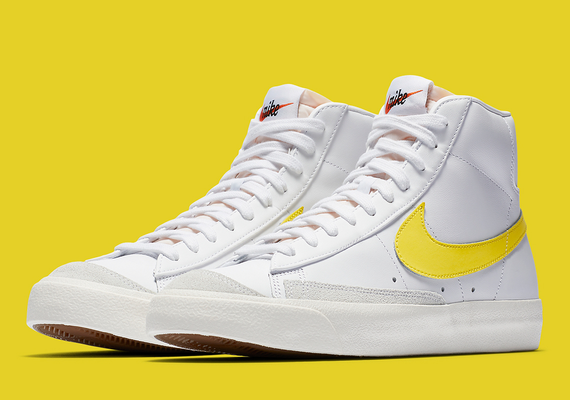 Consumir salir preferible  Nike Blazer Mid 77 Optic Yellow BQ6806-101 Release Info | SneakerNews.com
