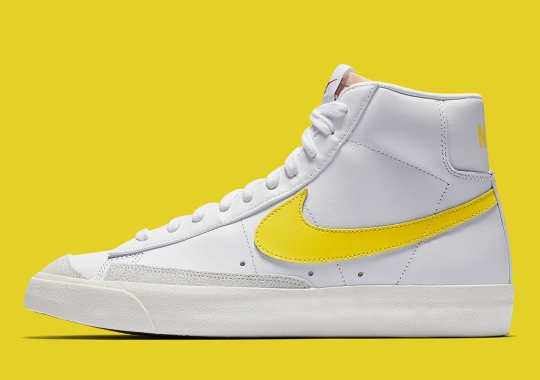 The Nike Blazer Mid 77 Vintage Arrives In Optic Yellow
