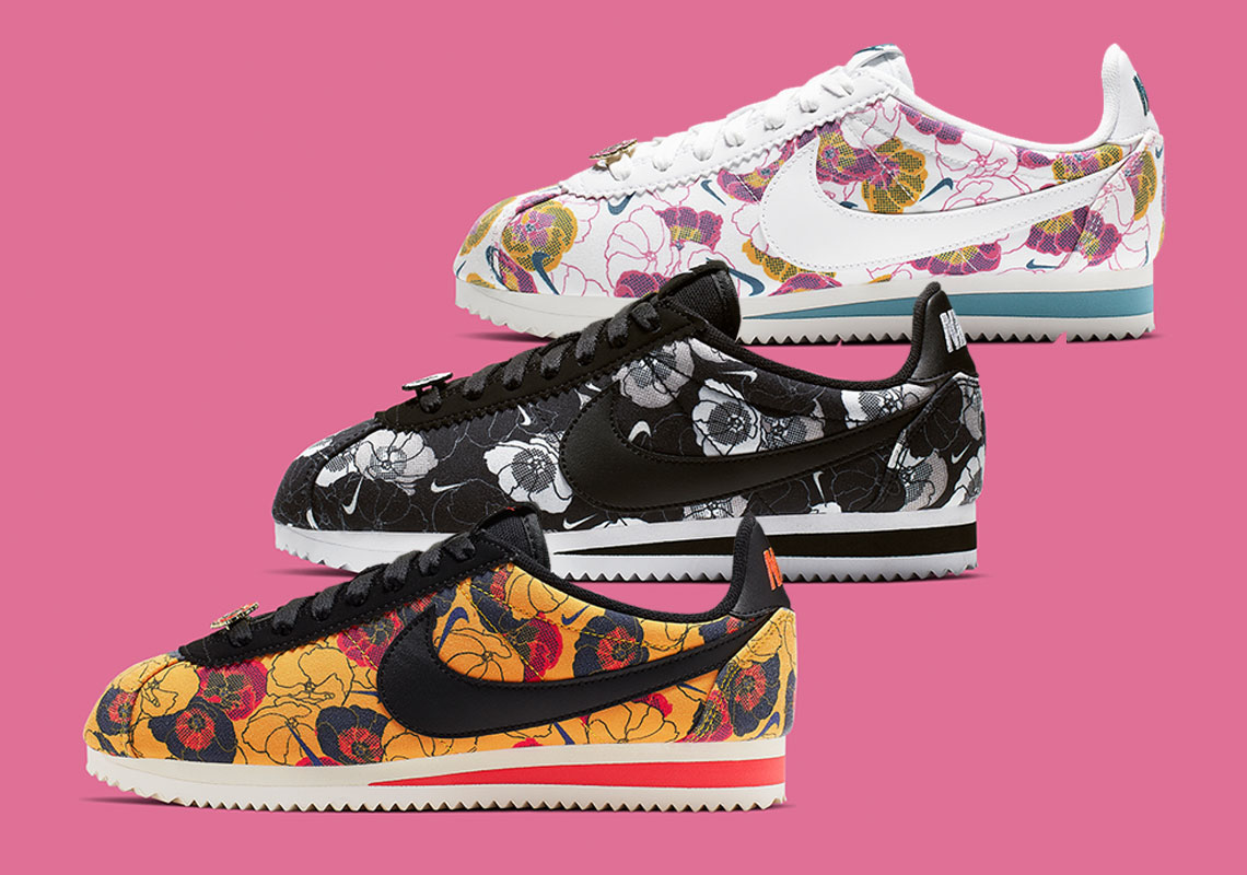 503f770ce46 A Floral Pack Of Nike Cortez For Women Is Blossoming Soon