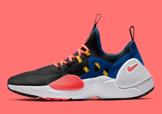 73dcd40341a The Nike Huarache EDGE TXT Adds Some OKC Thunder Style Colors