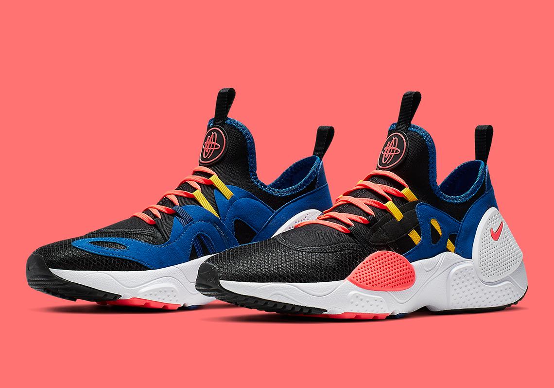 separation shoes 718f7 12c4d Nike Huarache EDGE TXT OKC Thunder AO1697-003 | SneakerNews.com