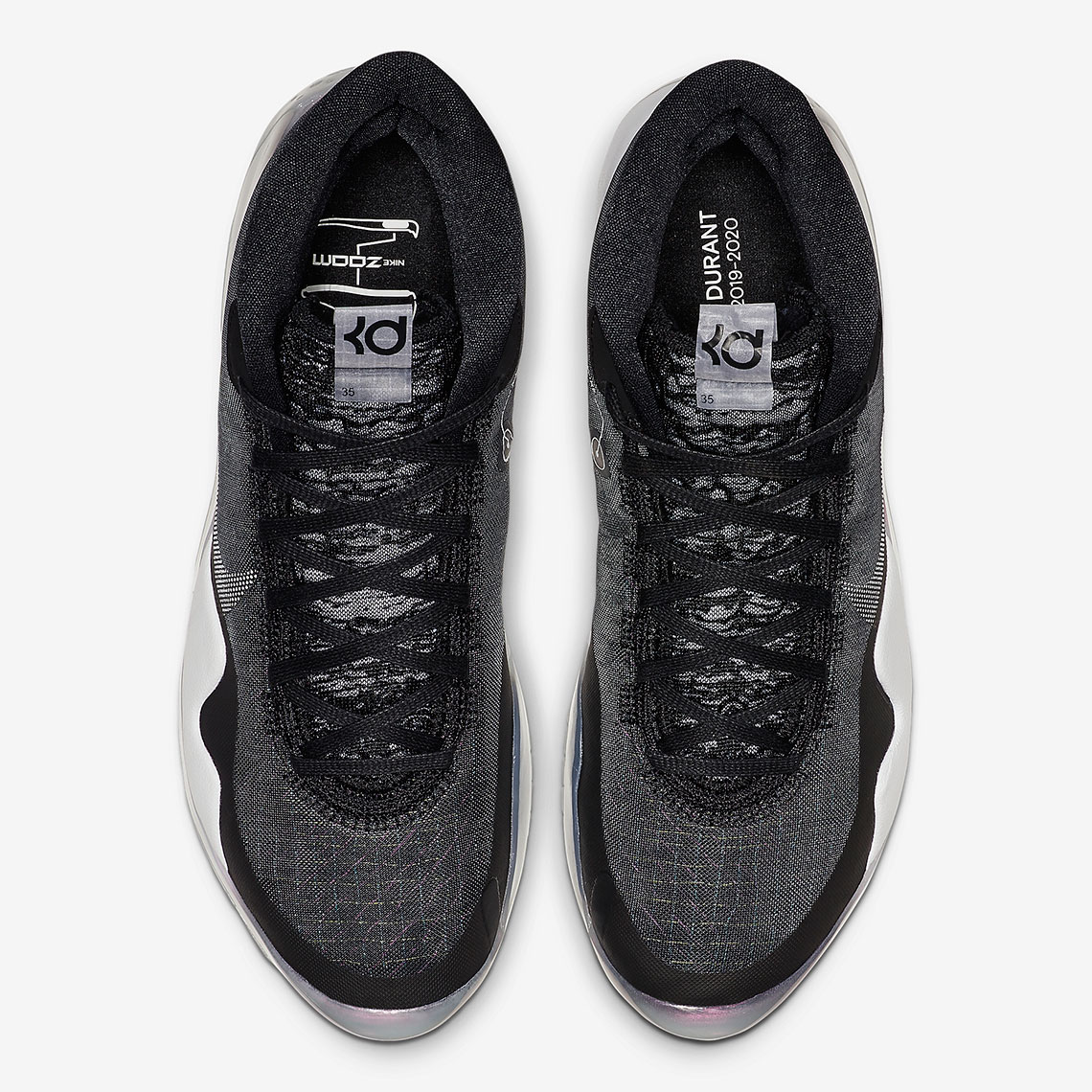 4c1dffefb0e6 Where To Buy Nike KD 12 Black White Kevin Durant Shoes