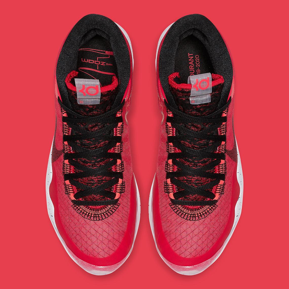 Nike KD 12 University Red AR4230-600