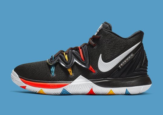 b64c37d9eb65 TV Sitcom Friends and Kyrie Irving To Release Nike Collaboration Soon