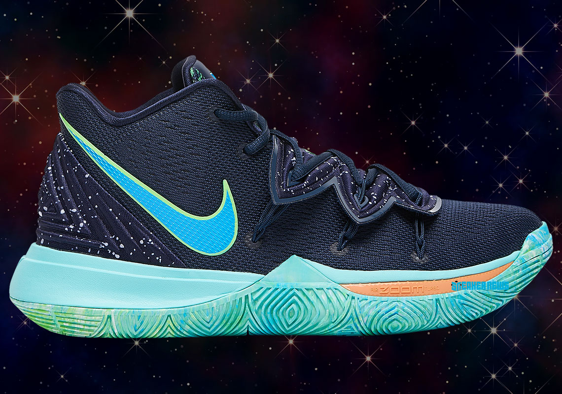 "f89ea041c6f3 Kyrie Irving Is Ready For The Playoff Spotlight With The Nike Kyrie 5 ""UFO"""