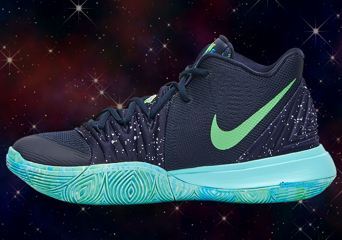 "Nike Kyrie 5 ""UFO"" Features Illuminati Logo: Detailed Images"