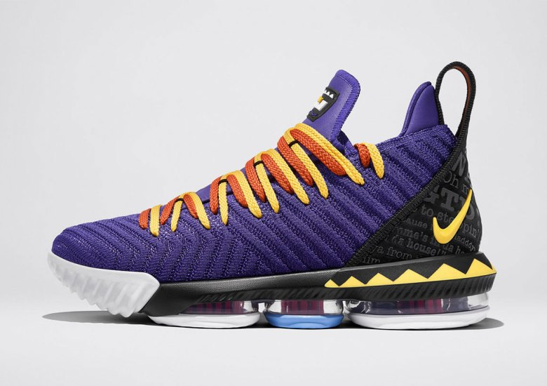 af793c5fbb7 LeBron s Love Of Martin Shines In Upcoming Nike LeBron 16