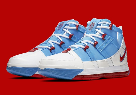 "daede5a9a3a4 Nike LeBron 3 ""Houston Oilers"" Releasing On May 2nd"