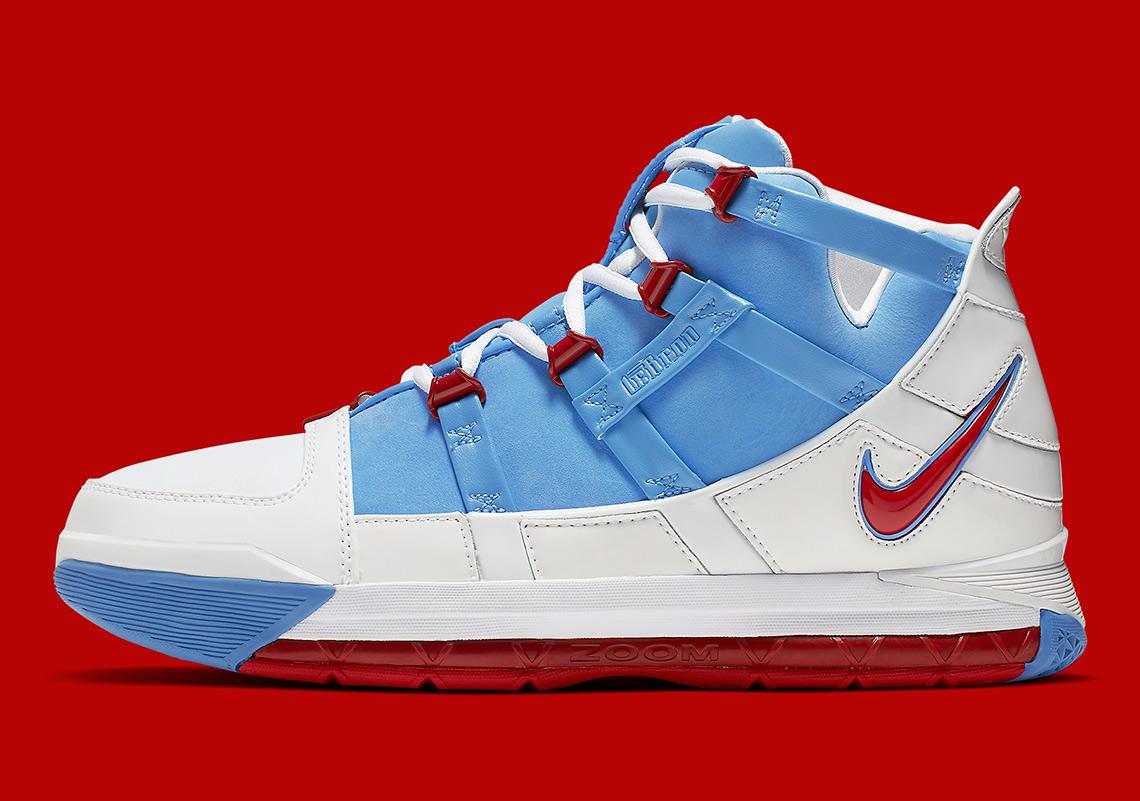 3d06a794f8f Nike LeBron 3 Houston Oilers AO2434-400 Release Date