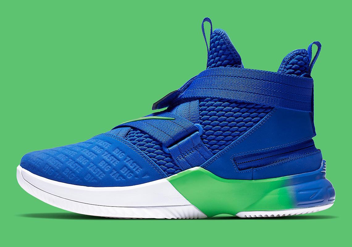 pretty nice 61e24 5fdde Nike LeBron Soldier 12 Flyease Big Taste AV3812-400 Release ...