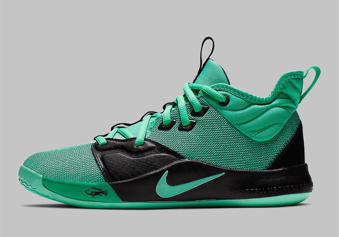 26c4aa34e4f2 Nike PG 3 GS Menta Green Emerald Rise AQ2462-330
