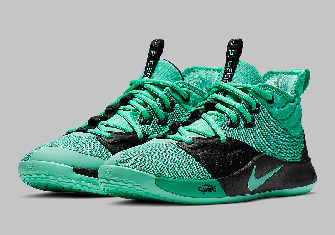 Nike PG 3 GS Menta Green Emerald Rise AQ2462-330