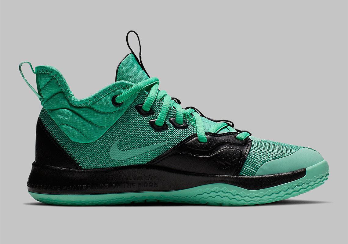 promo code 98697 44421 Nike PG 3 GS Menta Green Emerald Rise AQ2462-330   SneakerNews.com