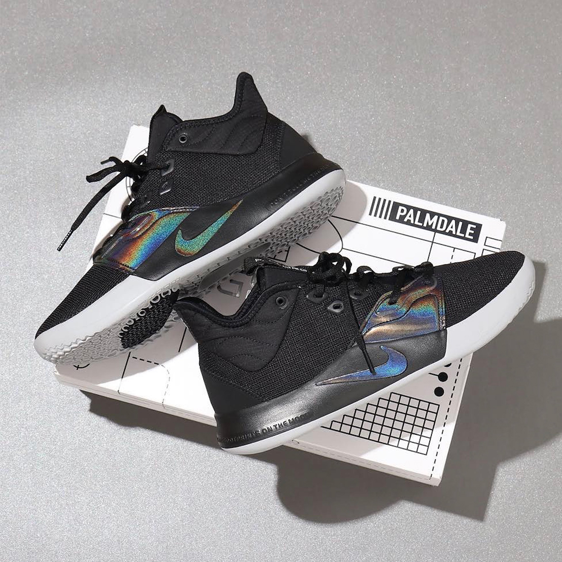 """Iridescent"" Nike PG 3 Drops Next Month: Detailed s"