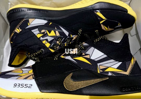 "Nike PG 3 ""Mamba Mentality"" Features Yellow, Black, And White Detailing"