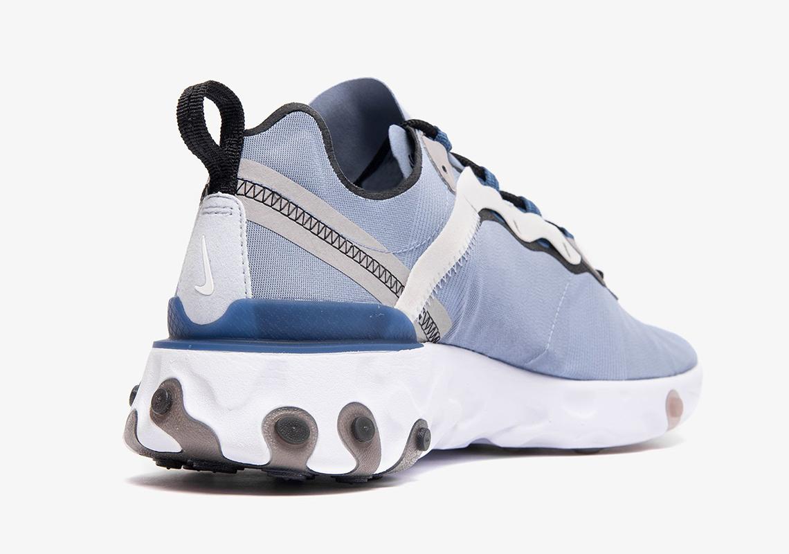 premium selection 9a847 f952e Nike React Element 55 Indigo Fog BQ6166-402 Release Date ...