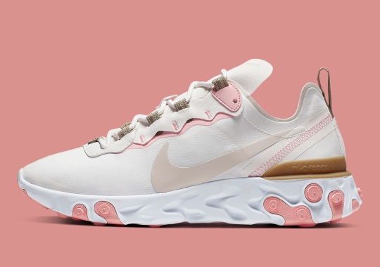 Nike React Element 55 Appears In Phantom And Light Orewood