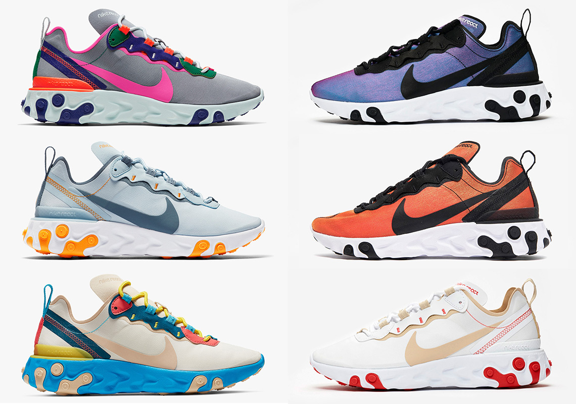 separation shoes 6f9e2 41ba5 Nike To Start Month Of May With Several React Element 55 Drops