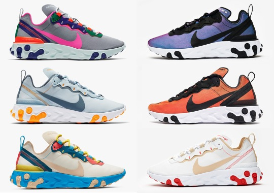 6b55aa2228ac Nike To Start Month Of May With Several React Element 55 Drops
