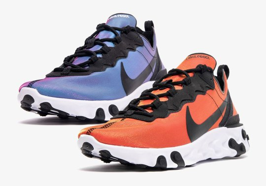 "Nike React Element 55 ""Sunrise and Sunset"" Pack Drops On May 2nd"