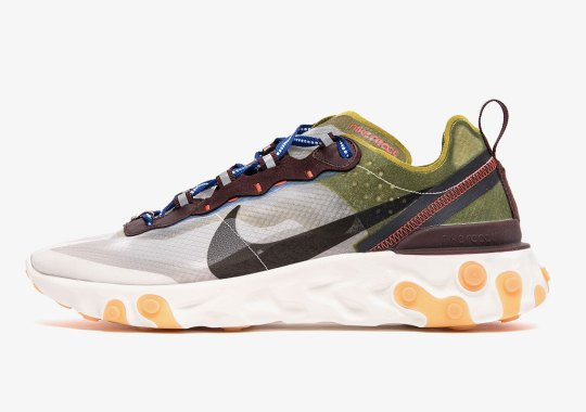 "Nike React Element 87 ""Moss"" Releases On May 2nd"
