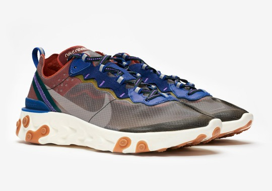 "Where To Buy The Nike React Element 87 ""Dusty Peach"""