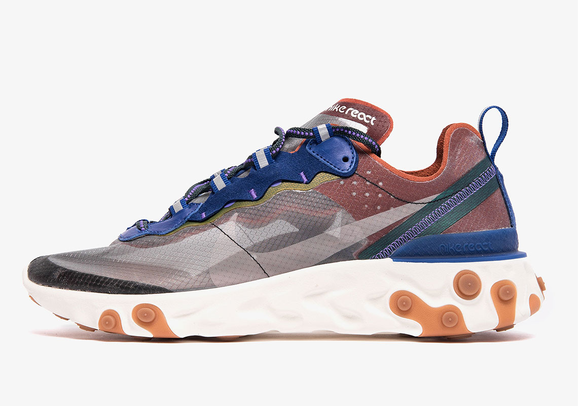 1bf2003a95c2 The Nike React Element 87 Returns In New Dusty Peach And Atmosphere Grey
