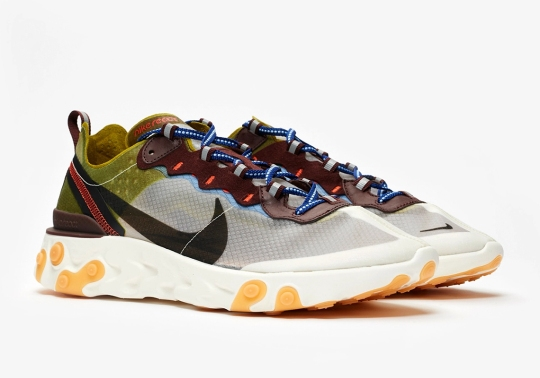 "Where To Buy The Nike React Element 87 ""Moss"""